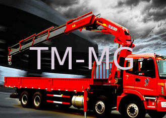 Fast  Knuckle Boom Truck Mounted Crane For Heavy Things Lifting,16Ton