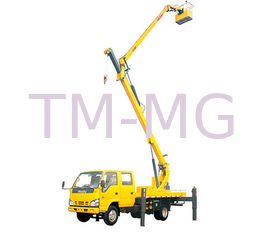 2T Lifting Capacity XCMG Bucket articulating boom truck 360 Slewing Angles