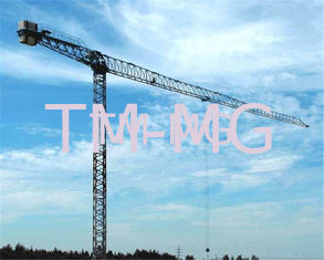 60M 12TON FLAT TOP Luffing Construction Tower Crane With  Electrical Control System XGTT200