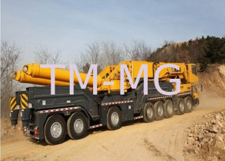 Hydraulic QAY800 mobile lift crane Durable 7- segment All Terrian
